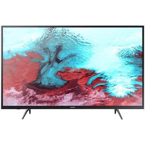 Телевизор Samsung UE43J5202AU Smart Black в Фронтовом фото